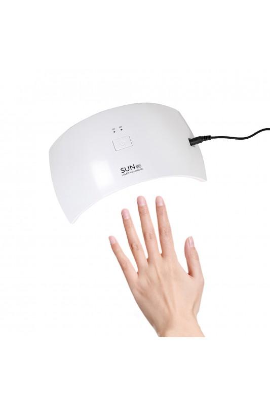 24W hibridinė UV LED lempa nagams SUN9C