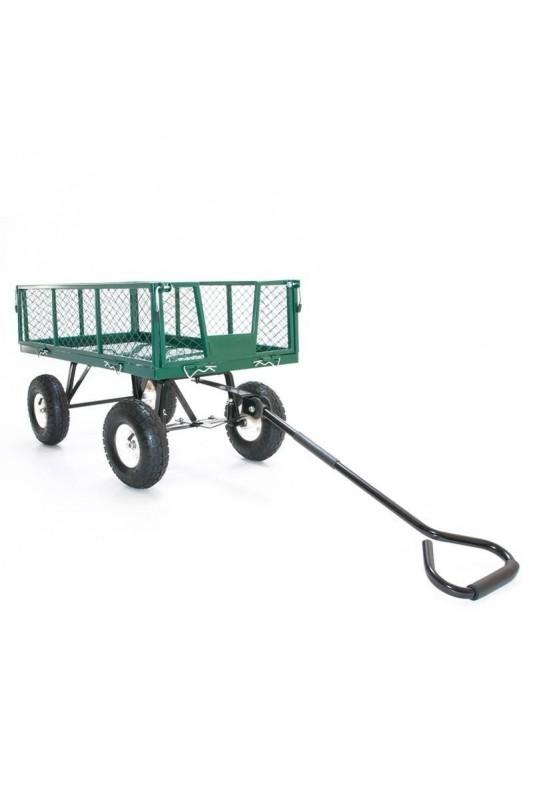 Praktiškas sodo vežimas - karutis, žalias